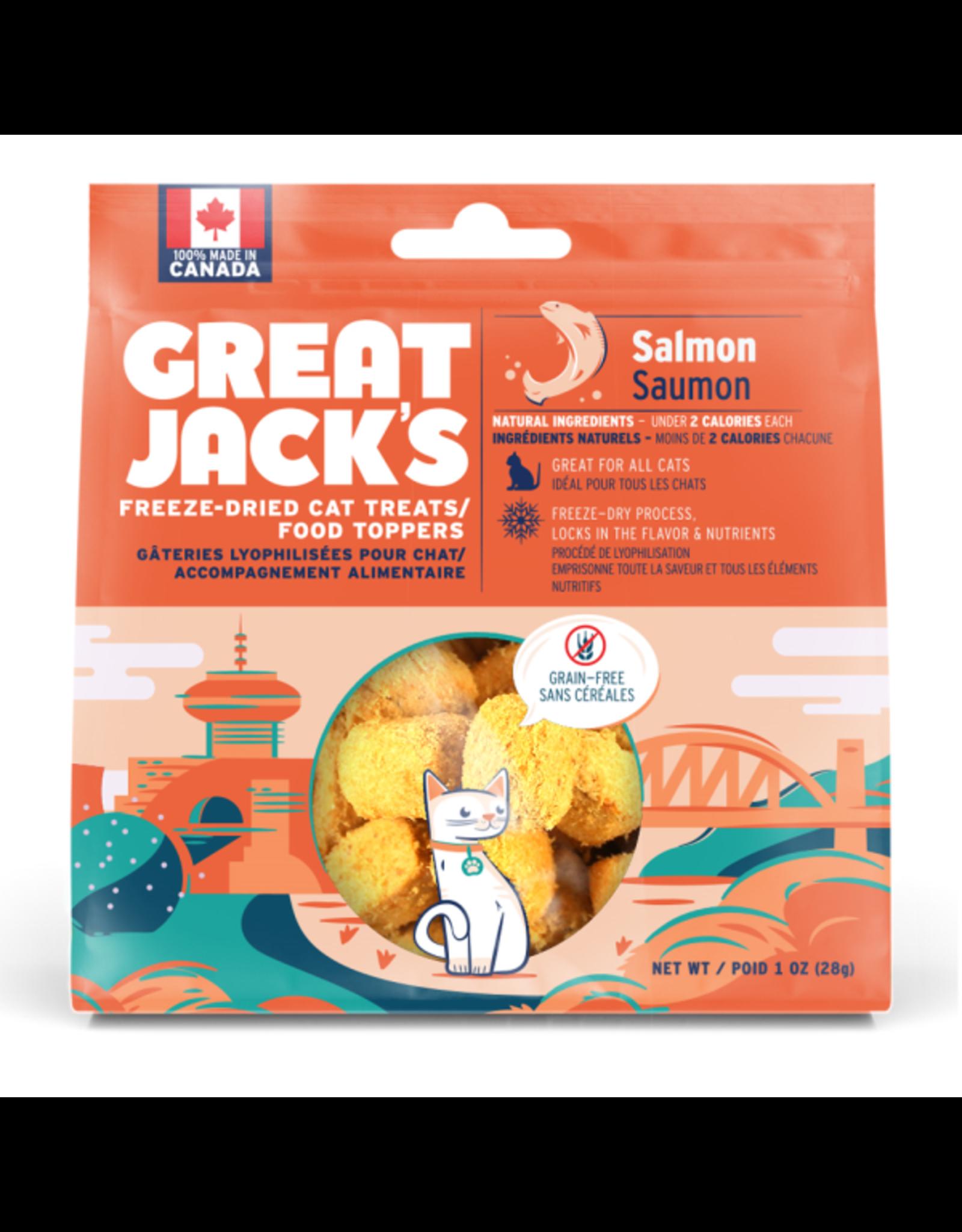 Canadian Jerky Co. Ltd Great Jack's Cat FD Treats/Topper 28g