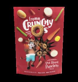 Fromm Dog Crunchy Os Pot Roast Punchers Multigrin Treats 6 oz
