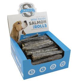 Snack 21 Salmon Skin Rolls Counter single