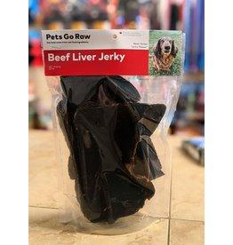 Pets Go Raw Beef Liver Jerky - single