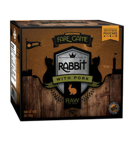 Big Country Raw Rabbit and Pork 4 x 1/2lb