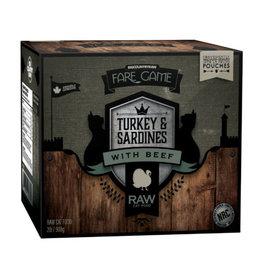 Big Country Raw Turkey, Sardine, Beef 4 x 1/2lb