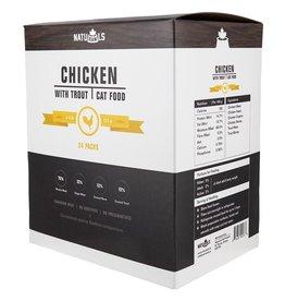 Naturawls Frozen - Raw Chicken & Trout 24/113GM / Cat
