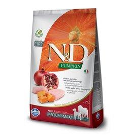 farmina N&D DOG Pumpkin Chicken & Pomegranate MED & MAXI