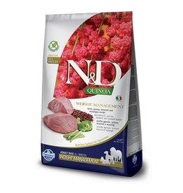 farmina N&D Dog Quinoa Weight Management LAMB