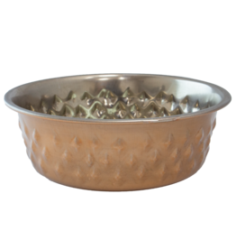 Bones + Arrows Tread Bowl Copper