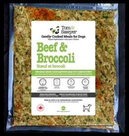 Tom & Sawyer Frozen-Beef & Broccoli 454GM