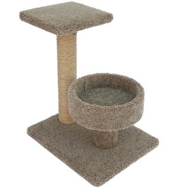 """Sisal Scratch Tree Basket Assorted Colors 24"""""""