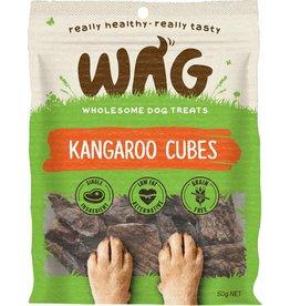 Wag Kangaroo Cubes 50g