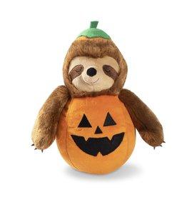 Fringe Studio Sloth-O-Lantern Plush Dog Toy