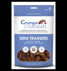 Crumps' Naturals Dog Mini Trainers Semi-moist Beef 4.2 oz
