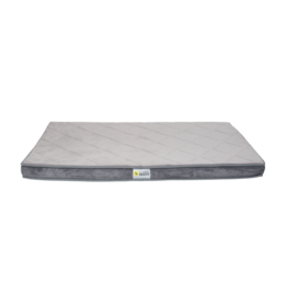 "Be One Breed Diamond Bed Gray Medium 35x23"""
