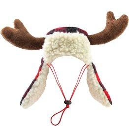 Huxley & Kent Holiday Hat Buffalo Check