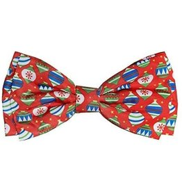 Huxley & Kent Bedecked Red Bow Tie