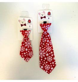 Huxley & Kent Snowflake Long Tie