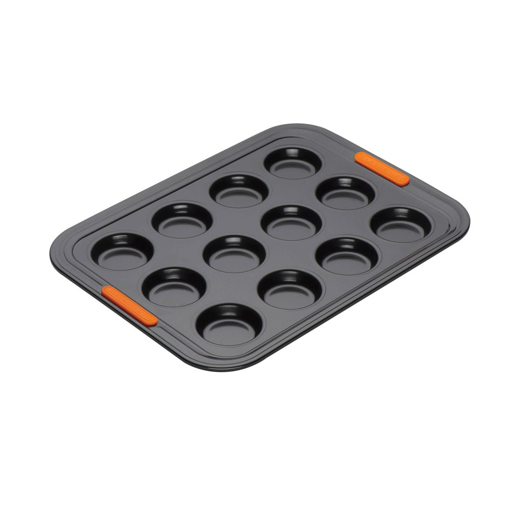 LE CREUSET Nonstick 12 Cup Mini Muffin Tray