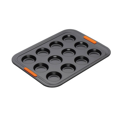 LE CREUSET Nonstick 12 Cup Mini Muffin Tray