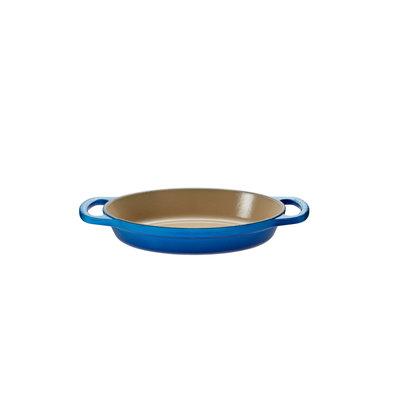 LE CREUSET Signature 0,6 L Plat A Cuisson Ovale Bleuet