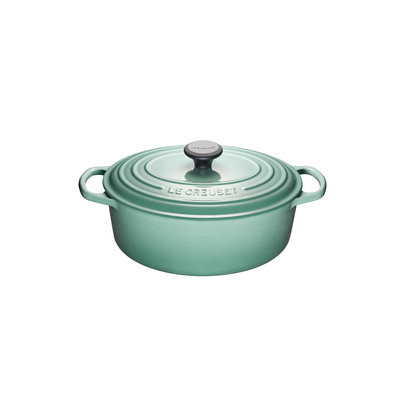 LE CREUSET Signature 4.7 L Oval French Oven Sage