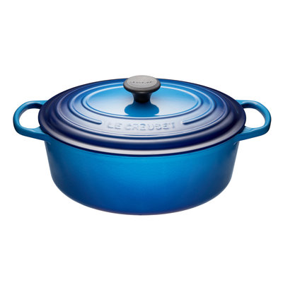 LE CREUSET Signature 4.7 L Oval French Oven Blueberry