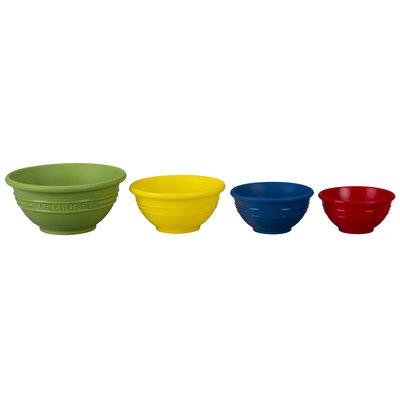 LE CREUSET Ktgad Set 4 Pc Prep Bowls Multi Colour