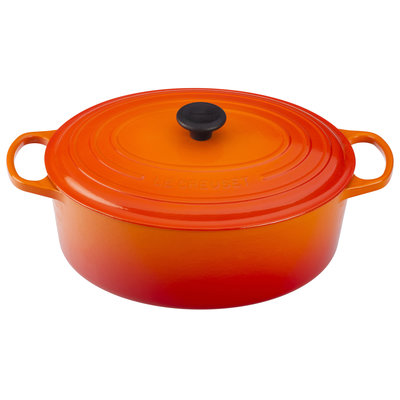 LE CREUSET Signature 8.9 L Oval French Oven Flame