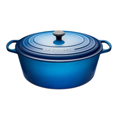 LE CREUSET Signature 8.9 L Oval French Oven Blueberry