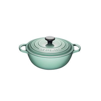 LE CREUSET Signature 4.1 L Chefs French Oven Sage
