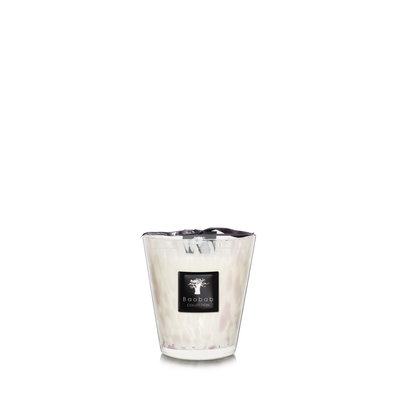 Baobab COLLECTION White Pearls Candle Max 16