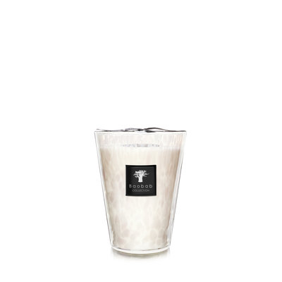Baobab COLLECTION White Pearls Candle Max 24