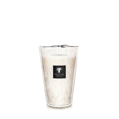 Baobab COLLECTION White Pearls Candle Max 35