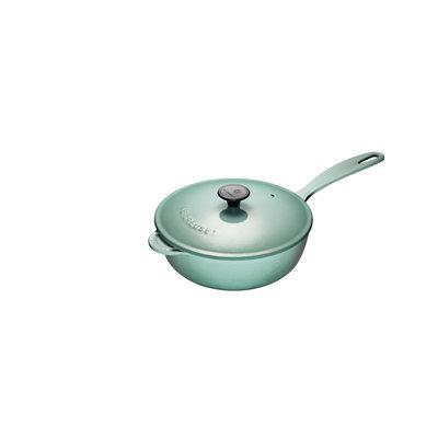 LE CREUSET Classic 2 L Saucier Pan New Sage