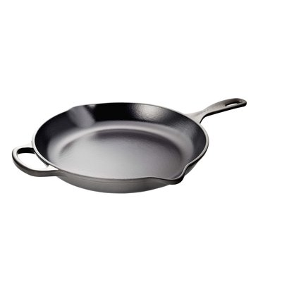 LE CREUSET Signature 30 Cm Iron Handle Skillet Oyster
