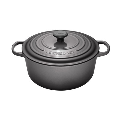 LE CREUSET Signature 6.7 L Round French Oven Oyster