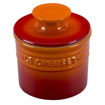 LE CREUSET Original .15 L Butter Crock Flame