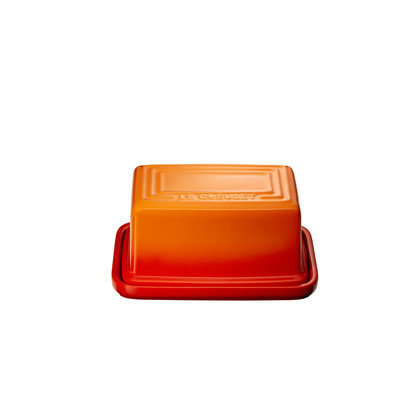 LE CREUSET Classic Butter Dish Flame