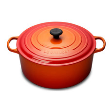 LE CREUSET Signature 12 L Round French Oven Flame