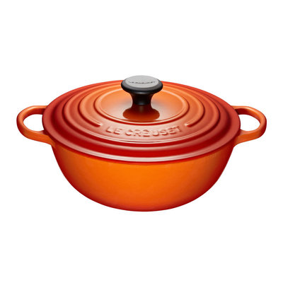 LE CREUSET Signature 4.1 L Chefs French Oven Flame