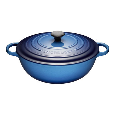 LE CREUSET Signature 7 L Chefs French Oven Blueberry