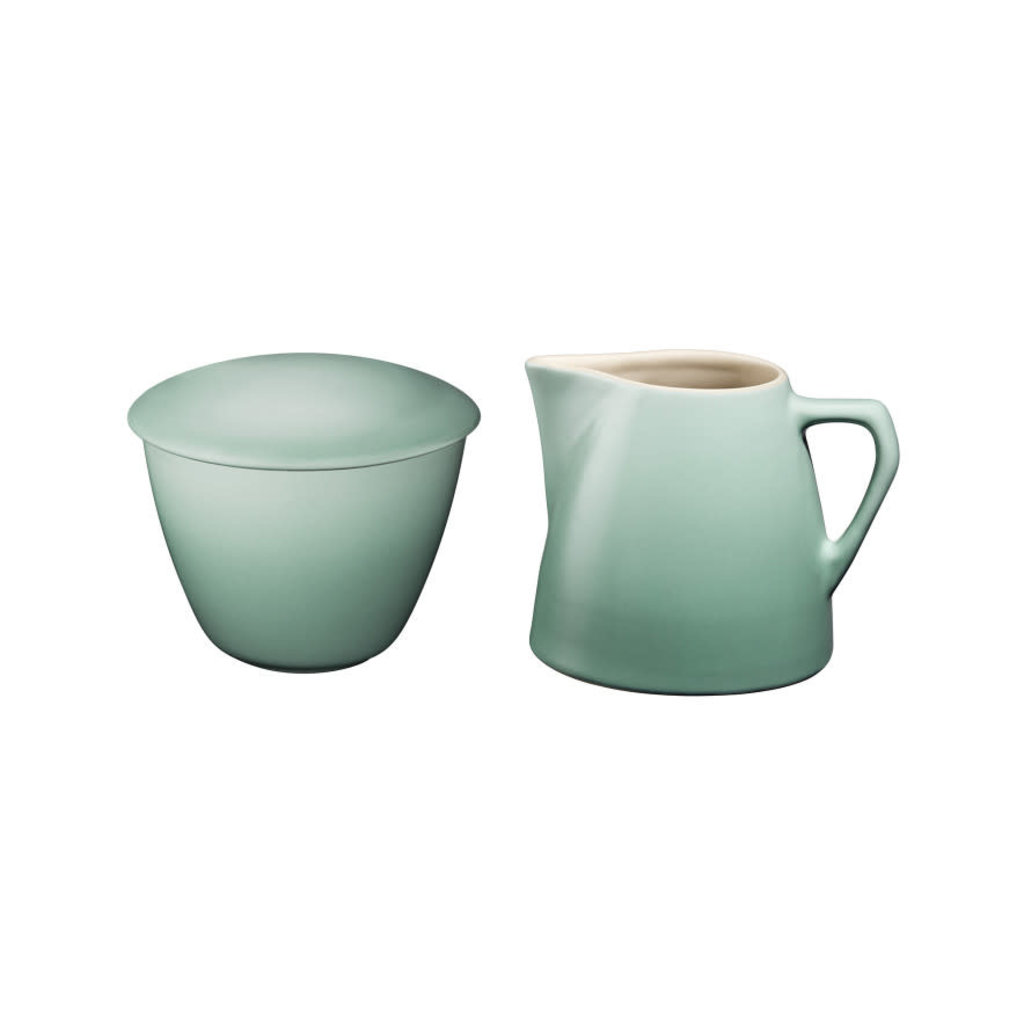 LE CREUSET Minimalist Set 2 Pc Cream & Sugar Sage
