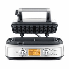 BREVILLE The Smart Waffle™ 2 Square With No Mess Moat