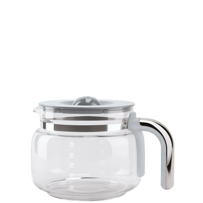 SMEG Glass Carafe With Lid For Dcf02 Drip Coffee Machines