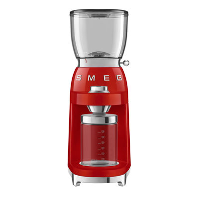 SMEG Coffee Grinder 50'S Style Red