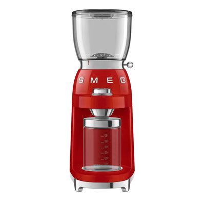 SMEG Moulin À Café Style Années 50 Rouge