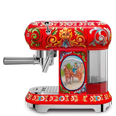 SMEG Machine À Espresso Retro 50'S Style Dolce & Gabbana