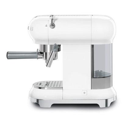 SMEG Espresso Coffee Machine 50'S Style White