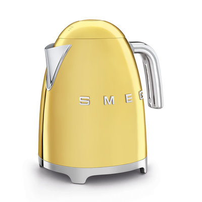 SMEG Kettle Fixed Temp 50'S Style Gold