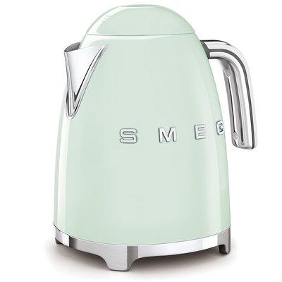 SMEG Kettle Fixed Temp 50'S Style Pastel Green, 3D Logo