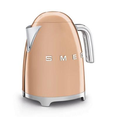 SMEG Kettle Fixed Temp 50'S Style Rose Gold
