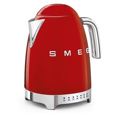 SMEG Kettle Variable Temp 50'S Style Red, 3D Logo